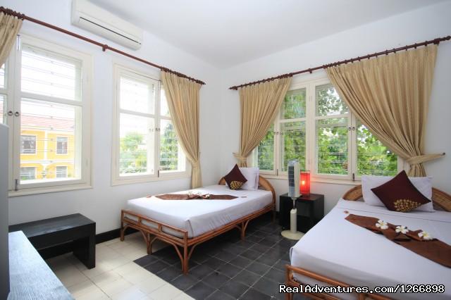 Deluxe Twin Room (#5 of 10) - Frangipani Villa-60s Hotel