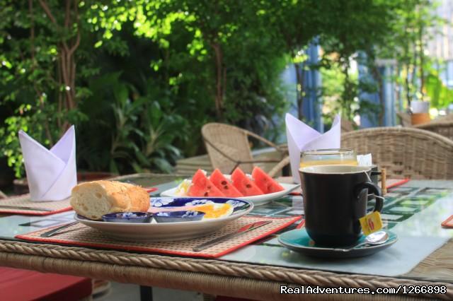 Breakfast (#9 of 10) - Frangipani Villa-60s Hotel