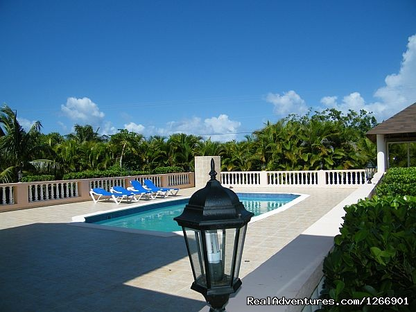 Pool side view (#3 of 14) - Caribbean Luxury For Less - Quiet but Near all