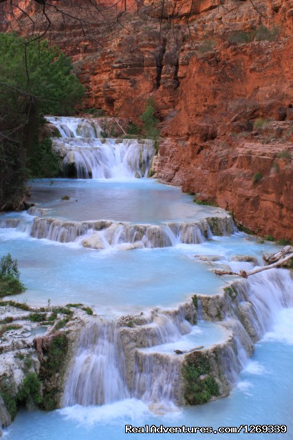 Beaver Falls in Havasupai (#3 of 12) - Scenic Hiking in the Grand Canyon and Havasupai