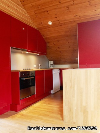 Loft Kitchen - Reside at the gateway to Iceland's Golden Circle