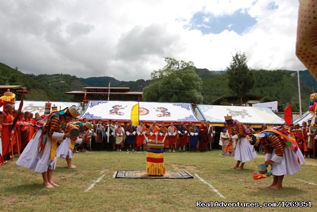 Festival (#2 of 3) - Bhutan & The Paro Festival Tour - 2013
