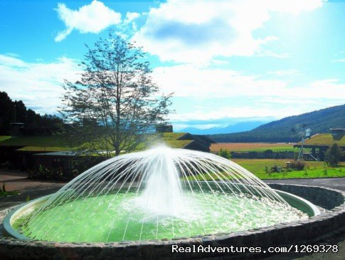 360 Degree Fountain | Image #3/11 | Exclusive Rental Luxury Lodge & Retreat