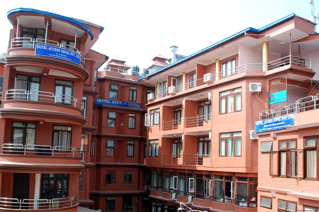 Hotel Main bulding | Image #2/3 | Hotel Access Nepal Pvt. Ltd.