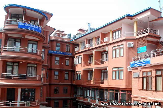 Hotel Main bulding - Hotel Access Nepal Pvt. Ltd.