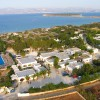 Water sports and fun at beach campsite in Paros Aegean Islands, Greece Campgrounds & RV Parks