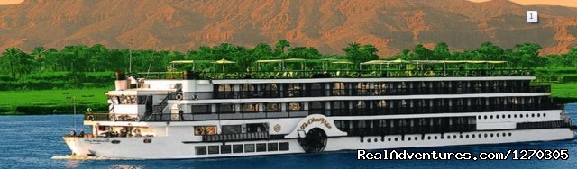Luxury Cruise, FB including sightseeings - Get 4 Nights in Paradise from Luxor to Aswan