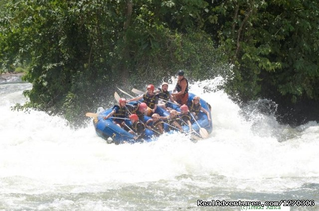 Rafting - Trekkr Africa'Wildlife and Cultural Safaris'
