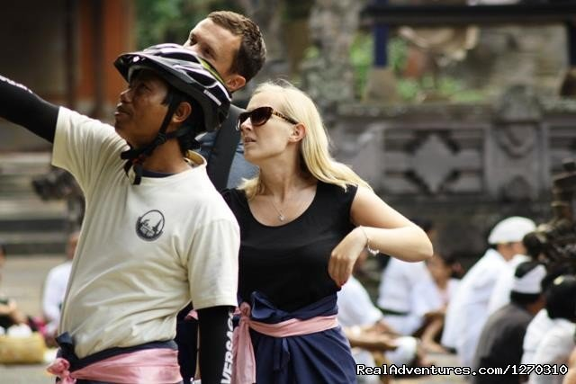 This bicycle tour takes you far away from the regular tourist itinerary and off the beaten track into rural Bali where you will get to see the customs and age old traditions of the Balinese people.