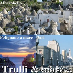 Trulli & more: Apulia's daily tour Bari, Alberobello, Polignano, Italy Sight-Seeing Tours