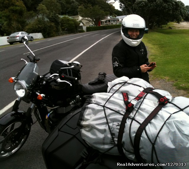 Your own Motorbike Guided Tour in New Zealand
