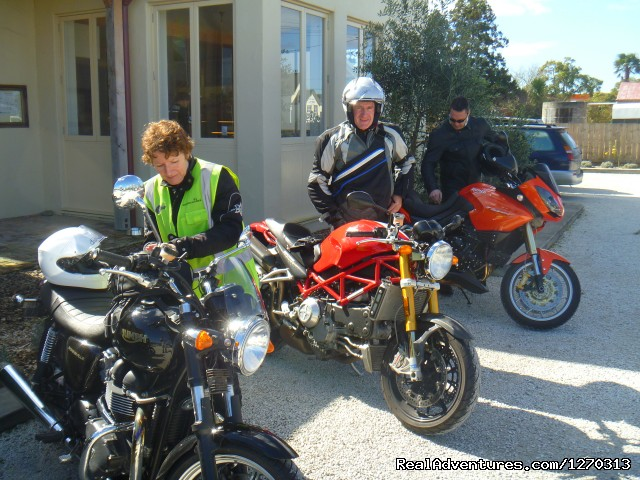Small groups, great times. - Your own Motorbike Guided Tour in New Zealand