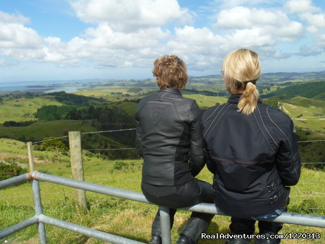 Great Views - Your own Motorbike Guided Tour in New Zealand