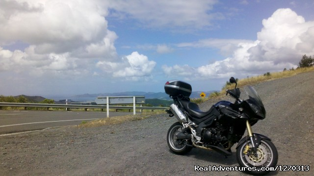 The road goes on forever - Your own Motorbike Guided Tour in New Zealand