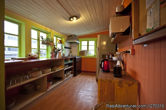 Hostal Casa Margouya kitchen. Puerto Varas. Chile - want to discover en enjoy south of Chile? welcome