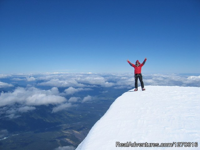 Top of volcan Osorno, Lakes district. Chile - want to discover en enjoy south of Chile? welcome