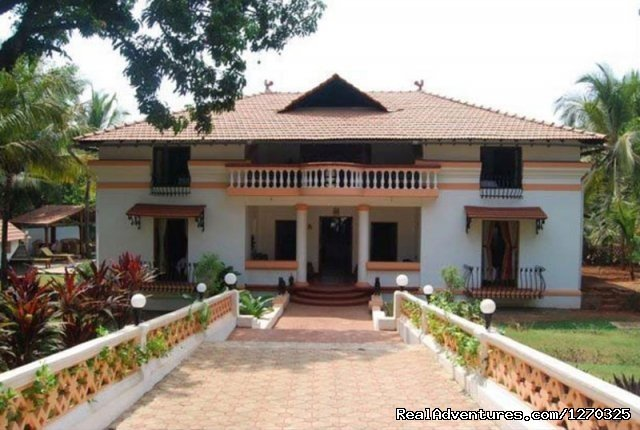 Front View | Image #1/1 | Piedade, India | Bed & Breakfasts | Divar Island Guest House Retreat