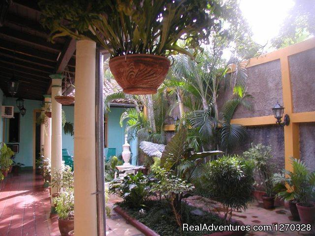 Patio Hostal Buen Viaje - Hostal Buen Viaje ,Remedios,Cuba