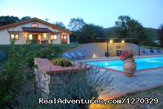 The swimming pool  and the hause (#6 of 16) - Romantic Week in a Eco-villa in Italy
