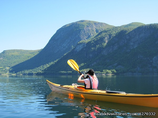 Valsoyfjord - Sea Kayaking in the top of Fjord Norway