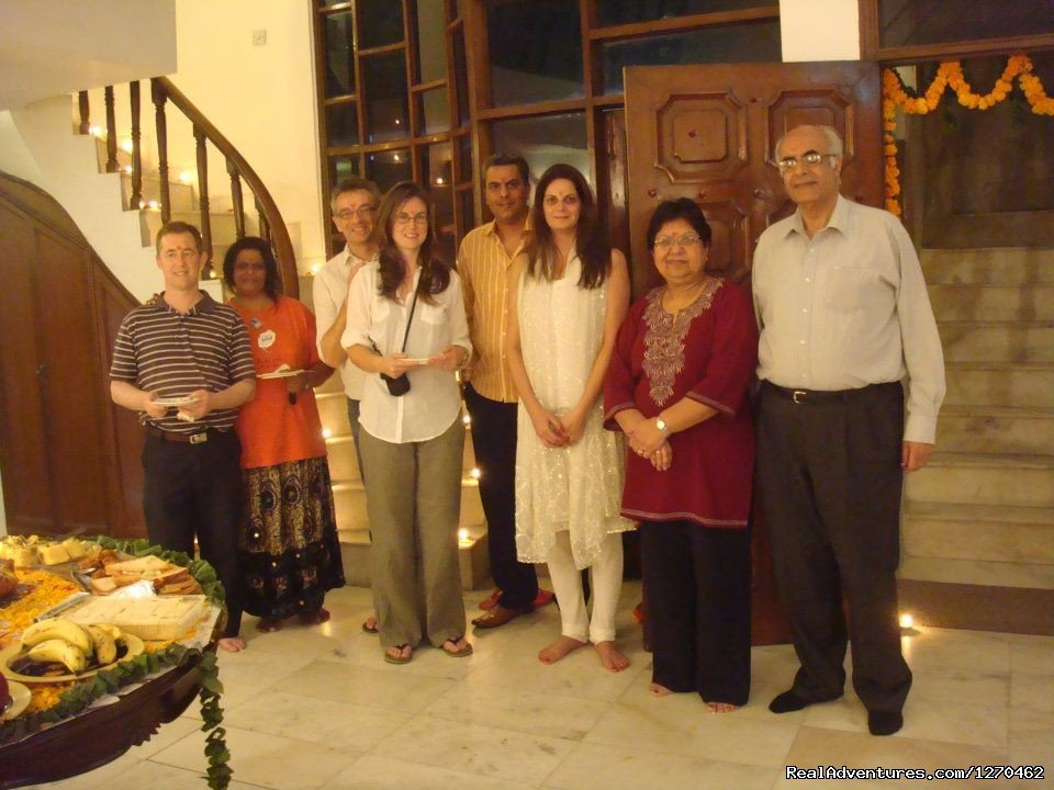 With Guests. | Image #19/21 | Bed and Breakfast Delhi | BnB