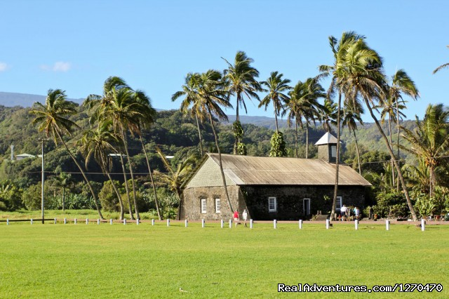 Old Stone Church (#3 of 4) - Road to Hana Tour on Maui Hawaii