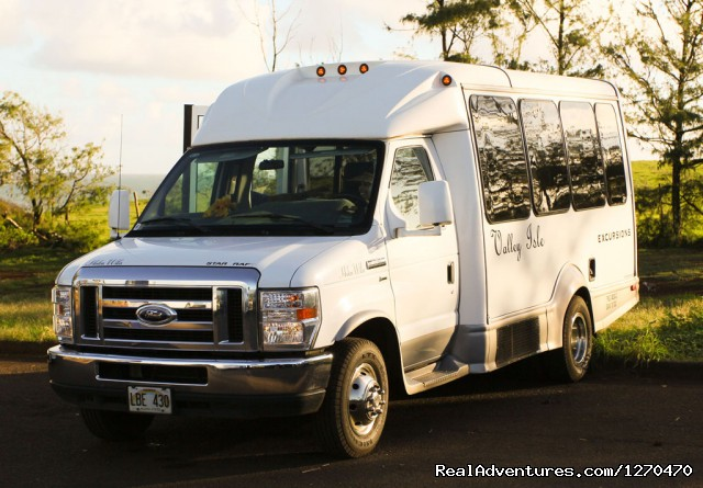 Custom Cruiser Vans - Road to Hana Tour on Maui Hawaii