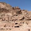 tour to Petra - the thumbs