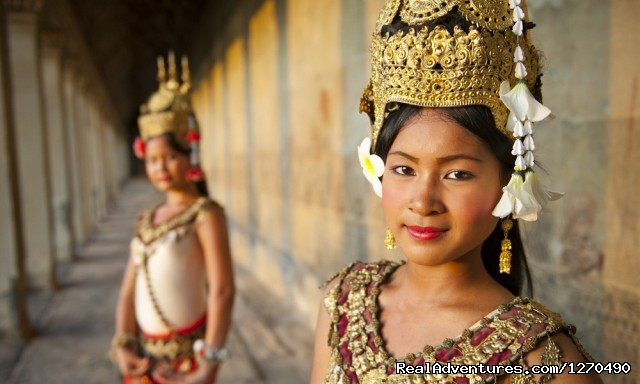Angkor For Two: A Romantic Journey Aspara Dancers at Angkor Wat, Cambodia