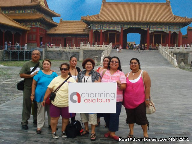 Small group in the Forbidden City (#2 of 7) - China Discovery Tour