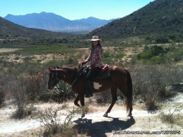 Wide Open Spaces - Oaxaca Horseback Riding Adventures
