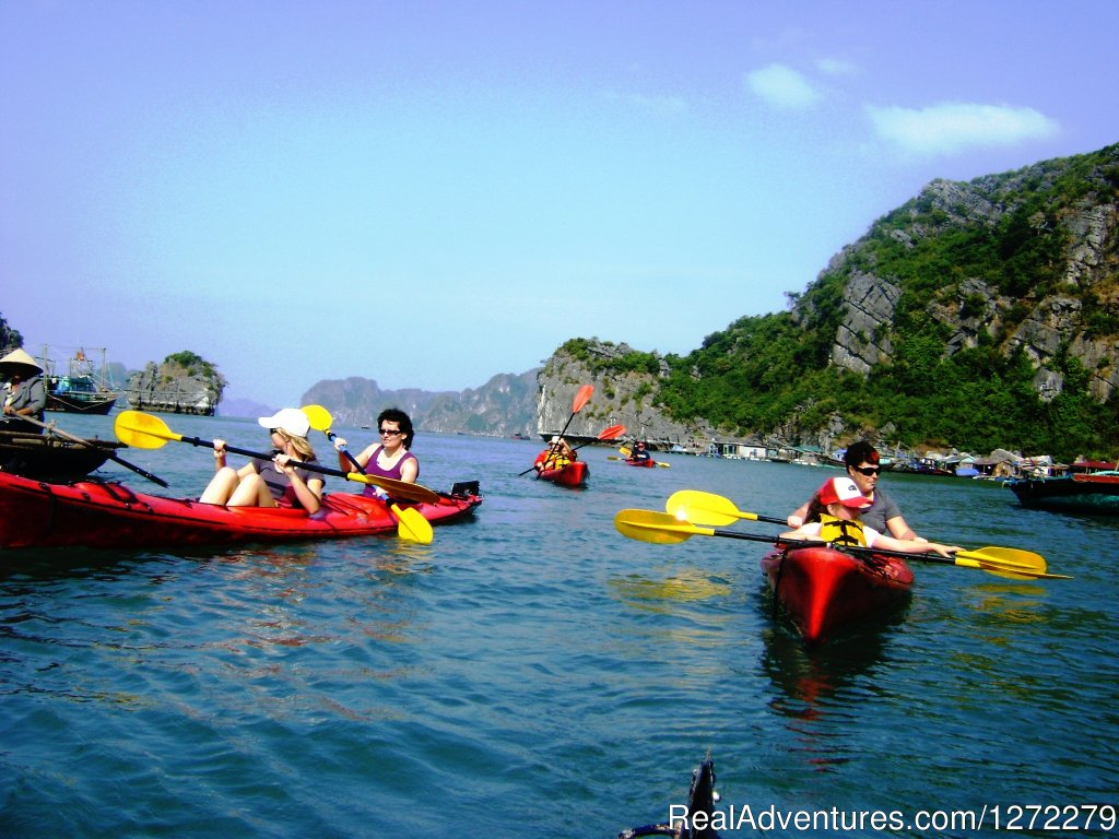 Halong bay of Vietnam-Kayaking | Image #3/23 | Vietnam Timeless Charm 10 days