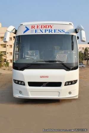 Book Bus Tickets Online @ Reddy Express Hyderabad, India Sight-Seeing Tours