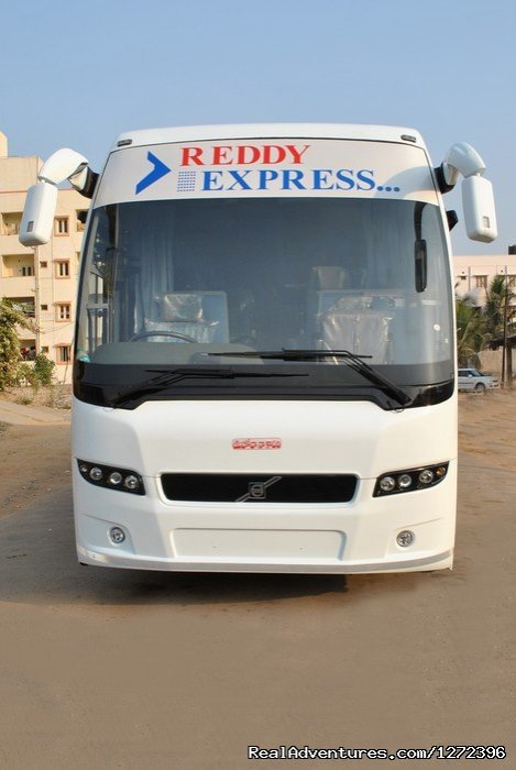 Reddy express is a pioneer online community in tours and travels;Easy way to book bus tickets for your journey, make use of online bus reservation and reserve seats to travel any place around the state with family and friends