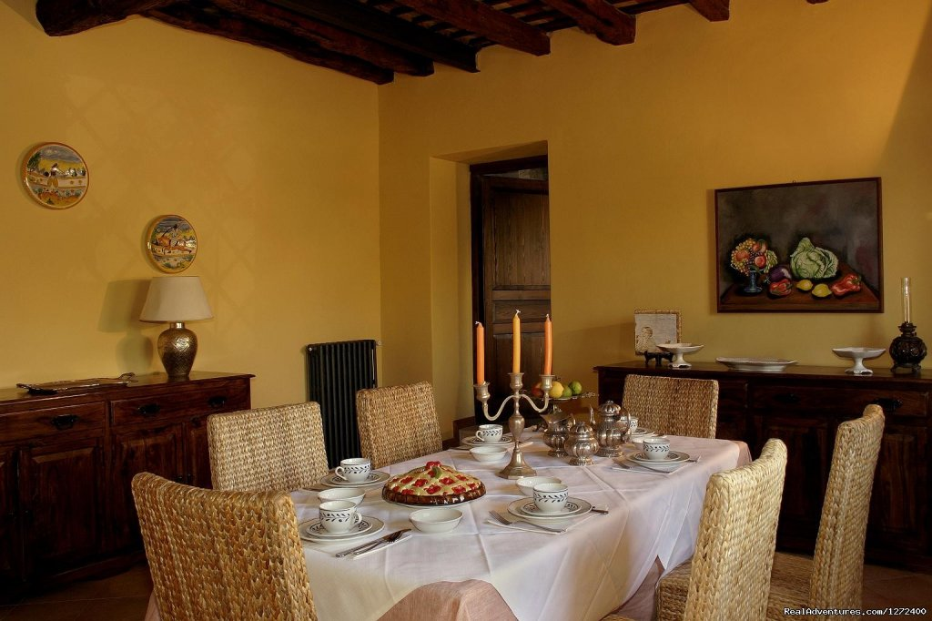 Breakfast Room | Image #3/25 | Beautiful Farm Holiday in Corleone, Sicily