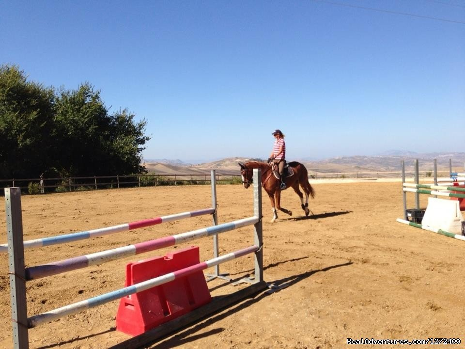 Riding | Image #12/25 | Beautiful Farm Holiday in Corleone, Sicily