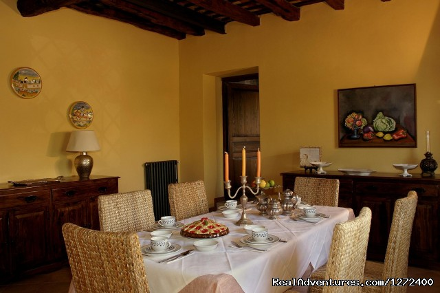 Breakfast Room - Beautiful Farm Holiday in Corleone, Sicily