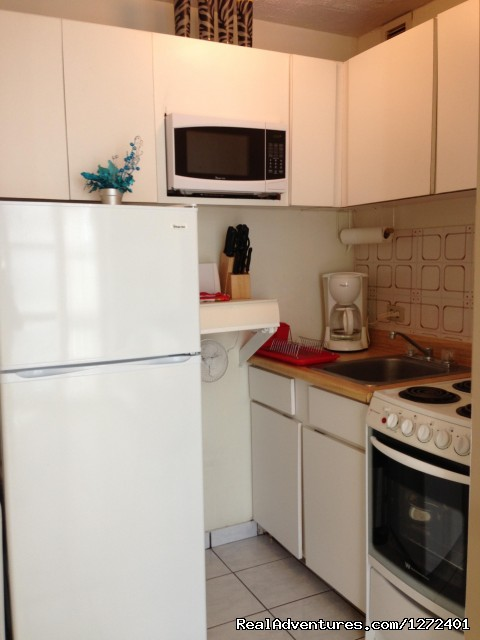 Kitchen (#3 of 18) - Studio Apt. In Condado on Ashford Ave  Puerto Rico