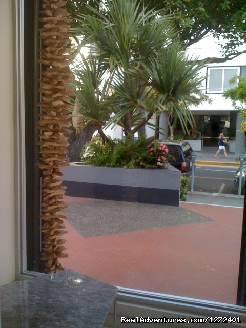 Entrance to Condo - Studio Apt. In Condado on Ashford Ave  Puerto Rico