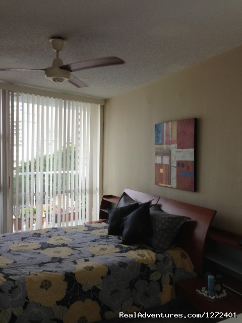 Queen size bed - Studio Apt. In Condado on Ashford Ave  Puerto Rico