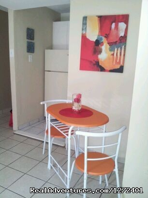 Dining for two - Studio Apt. In Condado on Ashford Ave  Puerto Rico