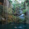 The Blue Cenote at Chichen-Itza