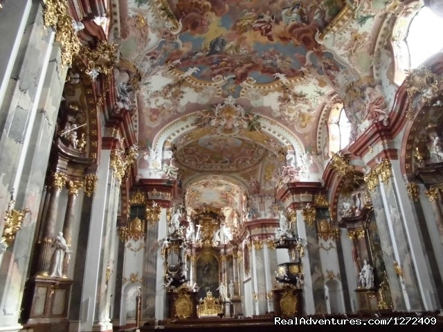 Spectacular catherdrals found all along the route - Austria: Passau to Vienna Bike - Freewheeling Adv.
