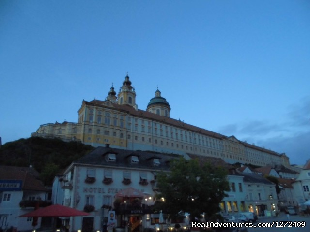 Melk (#4 of 6) - Austria: Passau to Vienna Bike - Freewheeling Adv.