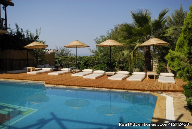 Outdoor Pool at Mandarin Boutique Hotel - Luxurious Boutique Hotel in Turkey
