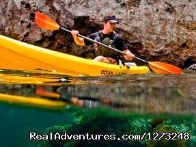 The National Park above & below the Ocean - Channel Islands Kayaking