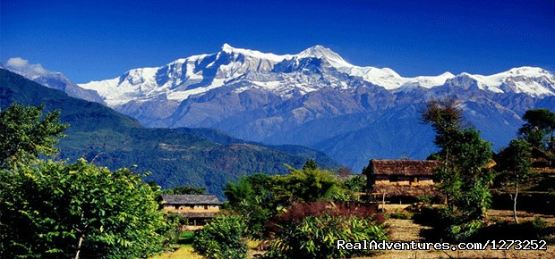 Annapurna Himalayan Range from Dhampus Pokhara (#3 of 4) - Explore Nepal