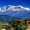 Annapurna Himalayan Range from Dhampus Pokhara