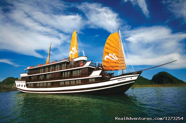 Paradise Cruise - Halong Bay Daily Tours