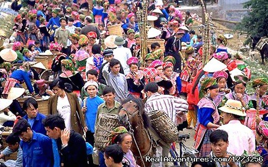Sapa authnic market | Image #6/8 | Christmas and New Year in Vietnam (9 nights)